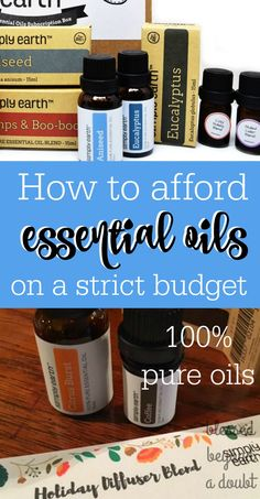 Find out how you can afford 100% pure essential oils on a budget. Also, get a free air diffuser while supplies last. Hurry!  ad