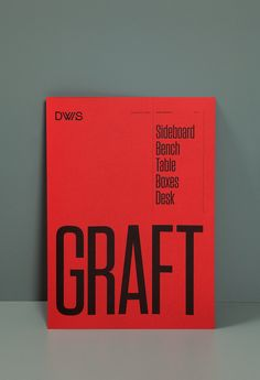 Graphic Design, Typography, Red, Poster in Design