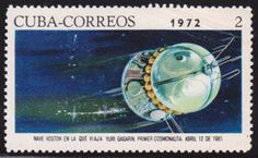 Gagarin Yuri, Space Exploration, Stamp Collecting, My Stamp, Astronomy, North America, Stamps, Post Card, Cards