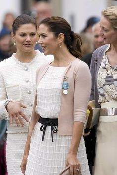 Crown Princess Mary of Denmark - 2012 and CP Victoria of Sweden