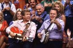 Buck Owens and Roy Clark on Hee Haw