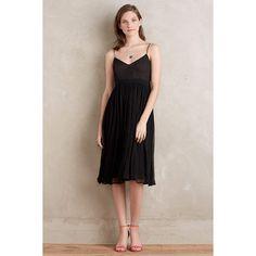 HD in Paris Marana Chiffon Dress ($178) ❤ liked on Polyvore featuring dresses, black, empire dress, chiffon dress and empire chiffon dress