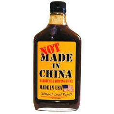 Here's a different sauce born in the USA! Splash on steaks, burgers, game, bacon-wrapped scallops, chopped or pulled pork. Use as a steak sauce or marinade too! Heat 2 out of 10 Barbecue Sauce, Bbq, Bacon Wrapped Scallops, Bourbon Sauce, Derby Pie, Sea Scallops, Pulled Pork, Stuffed Peppers, China