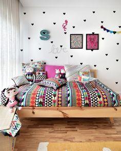 Буйство красок: 19 ярких спален – Вдохновение