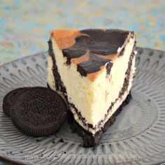 Oreo flavored black chocolate cheesecake swirled into creamy vanilla cheesecake on an Oreo crust and you've got Oreo Swirled Cheesecake. I've been working on this recipe since before Thanksgiving. I've been wanting to use my black cocoa for a cheesecake recipe for a while. Many cheesecake recipes incorporate Oreos but I wanted a cheesecake that...