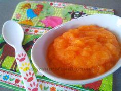 Je poursuis ma découverte de la betterave jaune en faisant une purée pour bébé avec la carotte. Aucun risque que ces légumes ne se marient pas bien étant d