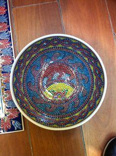 Mozaik bowl 30 cm  Hand made turkey   240 $