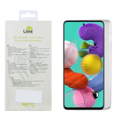 """LIME ΘΗΚΗ SAMSUNG A51 A515 6.5"""" SLIMCLEAR TPU ΔΙΑΦΑΝΗ Smartphone, Lime, Samsung, Lima, Key Lime"""