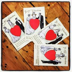 My Bookish Valentine: A Message from Honey & Wax, February 2015.