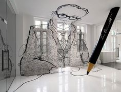 Advertising agency Leo Burnett's office mural by Ministry of Design. Creative Office, Cool Office, Office Ideas, Creative Studio, Creative Business, Creative Ideas, Office Mural, Office Walls, Office Art