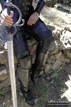 Nephael armor - legs by AtelierFantastique
