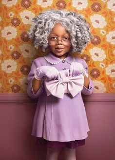 Creative Photos Reimagine Adorable Toddlers as Senior Citizens - My Modern Met