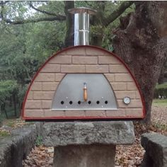LARGE PORTABLE WOOD FIRED PIZZA OVEN 'PRIME' RED or BLACK