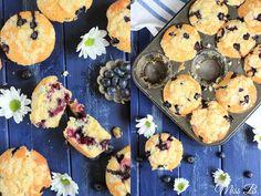 Miss Blueberrymuffin's kitchen: Die gehen immer: Blaubeer-Streusel-Muffins