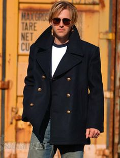 German Marine Colani Pea Coat, military1st.co.uk, £49.99