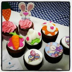Our Easter cupcakes...