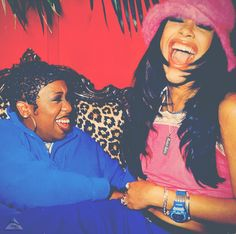 Missy Elliot & Aaliyah@Jaymee Danielle