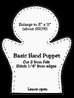 Craft felt kids finger puppets Ideas for 2019 Felt Puppets, Felt Finger Puppets, Hand Puppets, Glove Puppets, Sewing Basics, Sewing Hacks, Sewing Projects, Easy Projects, Sewing Tips