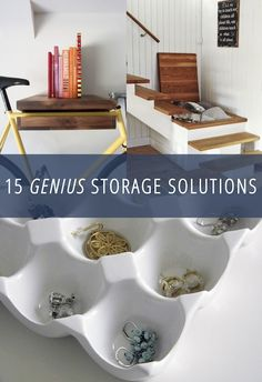 15 Genius Storage Solutions For The Home