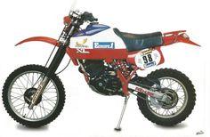 Honda XL 500 R Dakar 1982