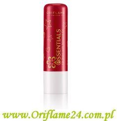 Oriflame - Balsam do ust z olejkiem migdałowym Essentials. Ten zmiękczający sztyft z witaminą E i naturalnym olejkiem migdałowym ochroni Twoje usta przed przesuszeniem na skutek działania niskich temperatur.  Pojemność: 4.5 g.