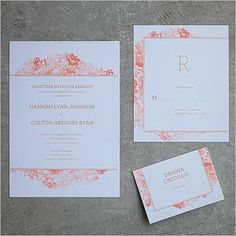 22 Free Printable Wedding Invitations that you can DIY and print at home. Save money on your wedding by making your own wedding invitations!: Watercolor Flowers Printable Wedding Invitation