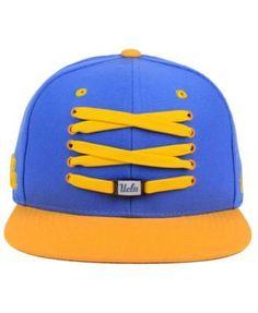 Zephyr Ucla Bruins Basketball Lacer Snapback Cap - Blue Adjustable