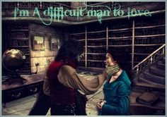 Rumbelle OUAT I'm a difficult man to love.  This is beautiful.