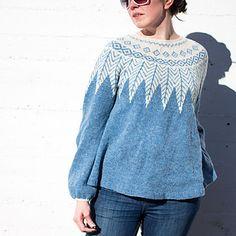 Ishav sweater by Maria Strikker