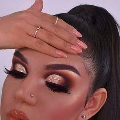 Eye Makeup Tips Green Eyes - my most beautiful makeup list Makeup Tips Green Eyes, Black Eye Makeup, Makeup Eye Looks, Colorful Eye Makeup, Eye Makeup Tips, Cute Makeup, Glam Makeup, Gorgeous Makeup, Pretty Makeup