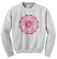 Gamma Phi Beta Seal Crewneck Sweatshirt
