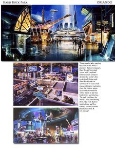 Concept for Hard Park Orlando