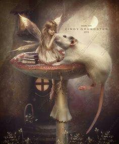 Cindy Grunsten Fairy Fantasy Art