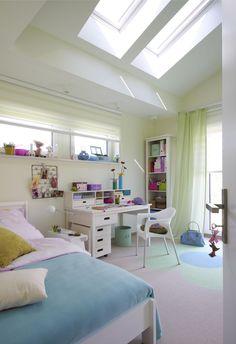 wohnideen jugendzimmer m dchen dachschr ge himmelbett gr ne farben jugendzimmer m dchen. Black Bedroom Furniture Sets. Home Design Ideas