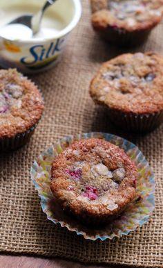 Raspberry Espresso Chocolate Chip Muffins -veganize
