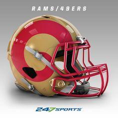 2203319aee1 28 Best NFL cross team helmet images