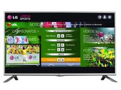 "Smart TV LED 42"" LG LB5800 Full HD 1080p - Conversor Integrado 3 HDMI 3 USB Wi-Fi 120Hz"