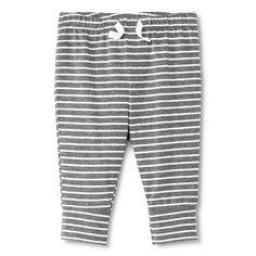 Baby Boys' Stripe Pant Grey/White - Circo™ : Target