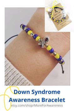 Spread your DS support with these cute bracelets! A dollar from every bracelet sold goes to Children's Cancer Research Fund! International shipping! Click on the link to see more! Down Syndrome Awareness, Childhood Cancer Awareness, Cute Bracelets, Raising Kids, How To Better Yourself, Marketing And Advertising, Friendship Bracelets, Birthday Gifts, Gifts For Her
