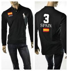 NEW Ralph Lauren Mens LS Lunar Year Big Gold Pony Rugby Shirt M L XL NEW $168