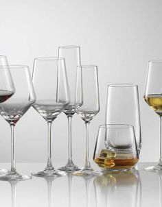 Set your dinner table in style using crystal stemware that is as strong as it is elegant.