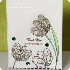 Paper pieced Simon says stamp Spring flowers. Made by Rachel Vass