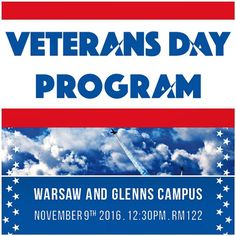 Join RCC as we honor our veterans on TOMORROW at 12:30 Glenns and Warsaw Room 122 #veteransday #veterans #northernneck #midpenva #nnk #middlepeninsula #rappahannock #community #college #comm_college