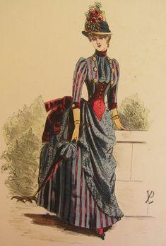1800s Antique Ruffle Parasol  Umbrella Gothic Costume Historical Mourning Victorian Reenactor Sun Fashion Style 19th Century