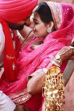 Pin Zaildarni Sikh Wedding Punjabi Photoshoot Indian