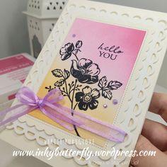 Craft Stash, Paper Crafts, Diy Crafts, Stampin Up Catalog, Craft Club, Stamping Up Cards, Card Sketches, Flower Cards, Cardmaking