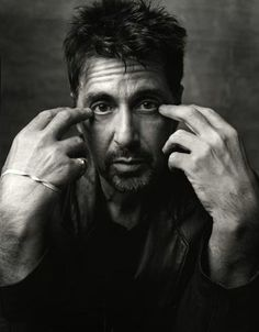 Al Pacino photographed by Mark Seliger. One of my favorite photos.