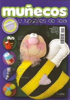 Revista muñecos y juguetes de tela