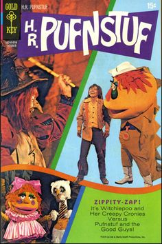 H.R. Pufnstuff, Who's your friend when things get rough? H.R. Pufnstuff Can't do a little cause he can't do enough.