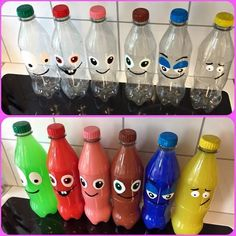 Diy For Kids, Crafts For Kids, Teacher Breakfast, Plastic Bottle Art, Slimming World Overnight Oats, Sensory Bottles, Healthy Living Magazine, Preschool Themes, Education Quotes For Teachers